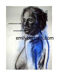 Woman 1 blue